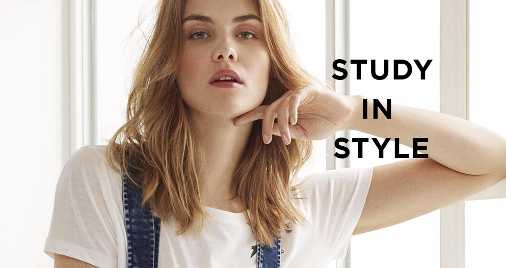 Study in Style - neue Back to School Styles bei Mavi