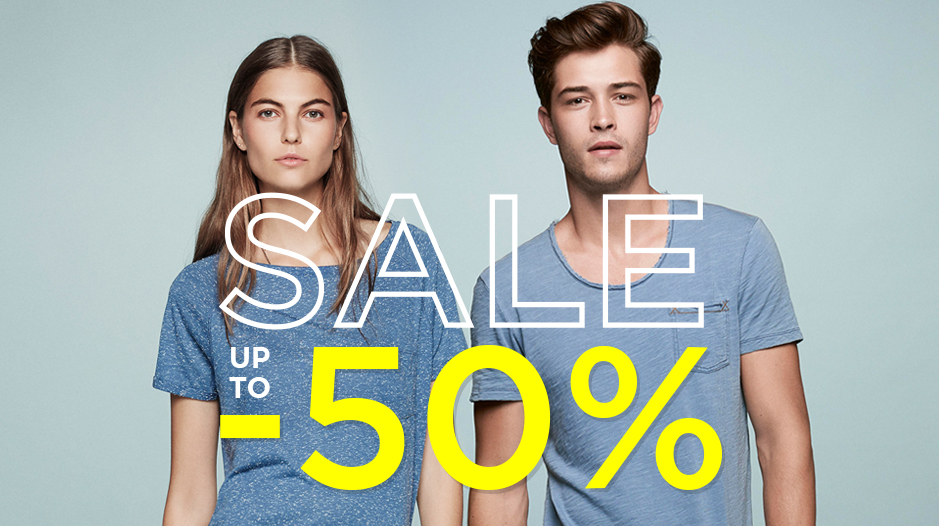 up to 50% Sale bei Mavi