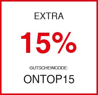 15 Prozent on Top auf alle Bestellungen bei mavi