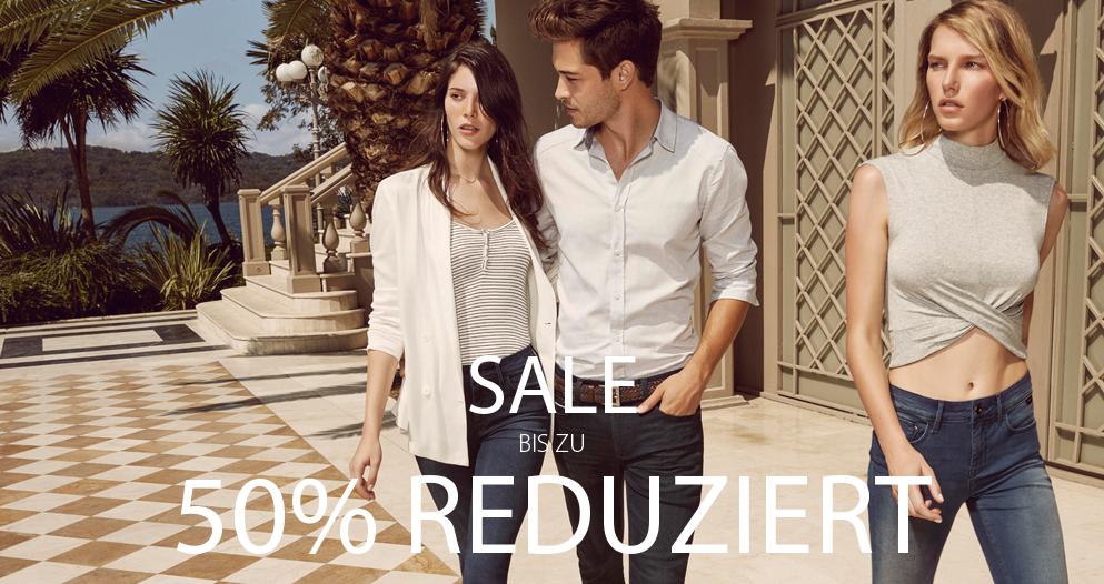 Sale bis zu 50 Prozent bei Mavi