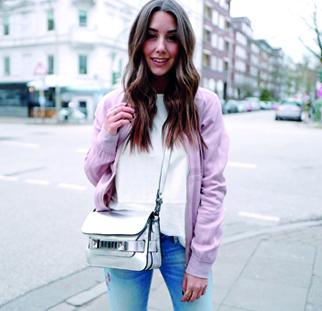 Check die neusten Outfits der Blogger auf Instagram