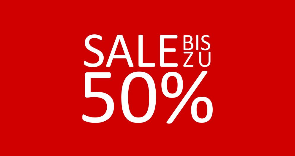 SALE - bis zu 50%