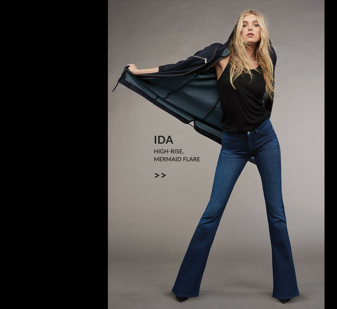 Indigo Move Kollektion von mavi - Fit Ida High Rise Flares
