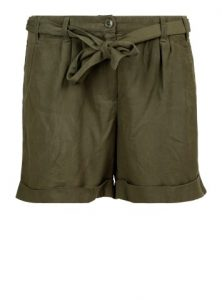 Luftige Shorts in khaki