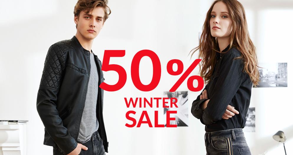 Winter Sale bis zu 50 Prozent reduziert bei Mavi