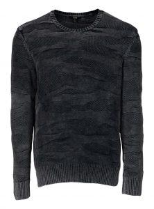 Neue dunkelgrauer Camouflage Pullover für Herren bei Mavi