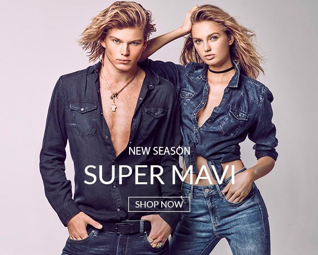 Super Mavi Jeans mit Jordan Barrett und Romee Strijd