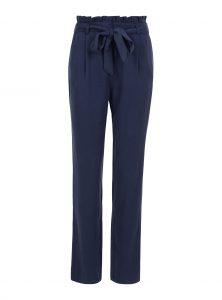 Paperbag Hose in blau mit Bindegürtel in der neuen Mavi Uptown Kollektion