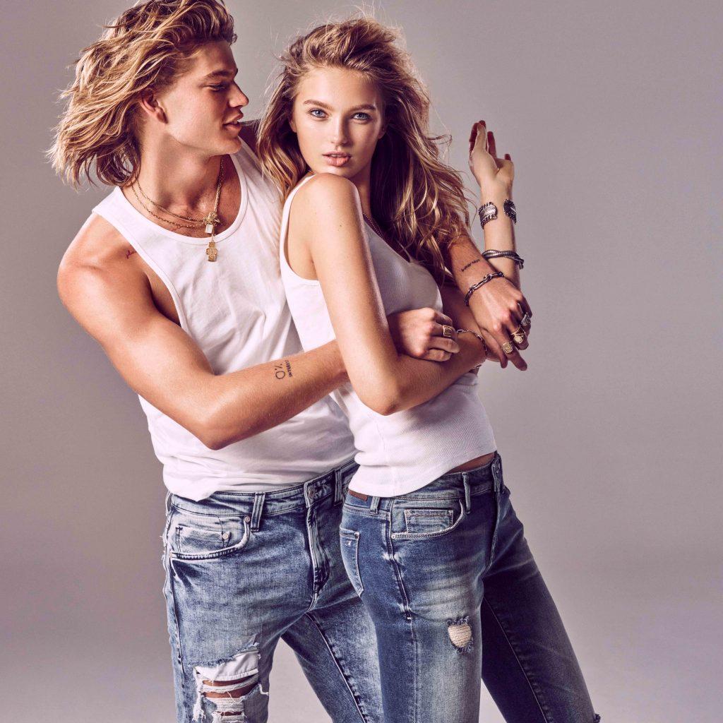 SUPERMAVI die neue Kampagne von Mavi Jeans mit Romee und Jordan