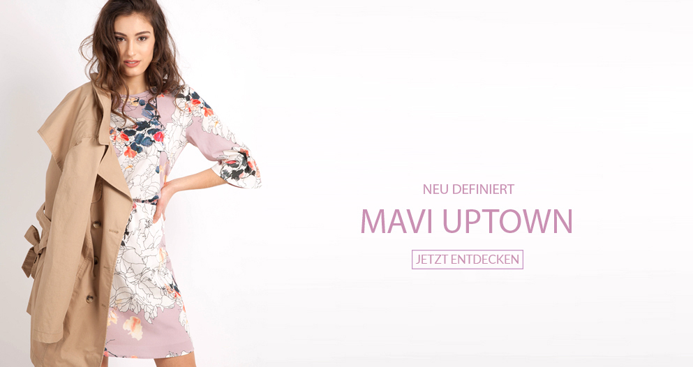 Mavi Uptown neu definiert, modern, schick, sportlich