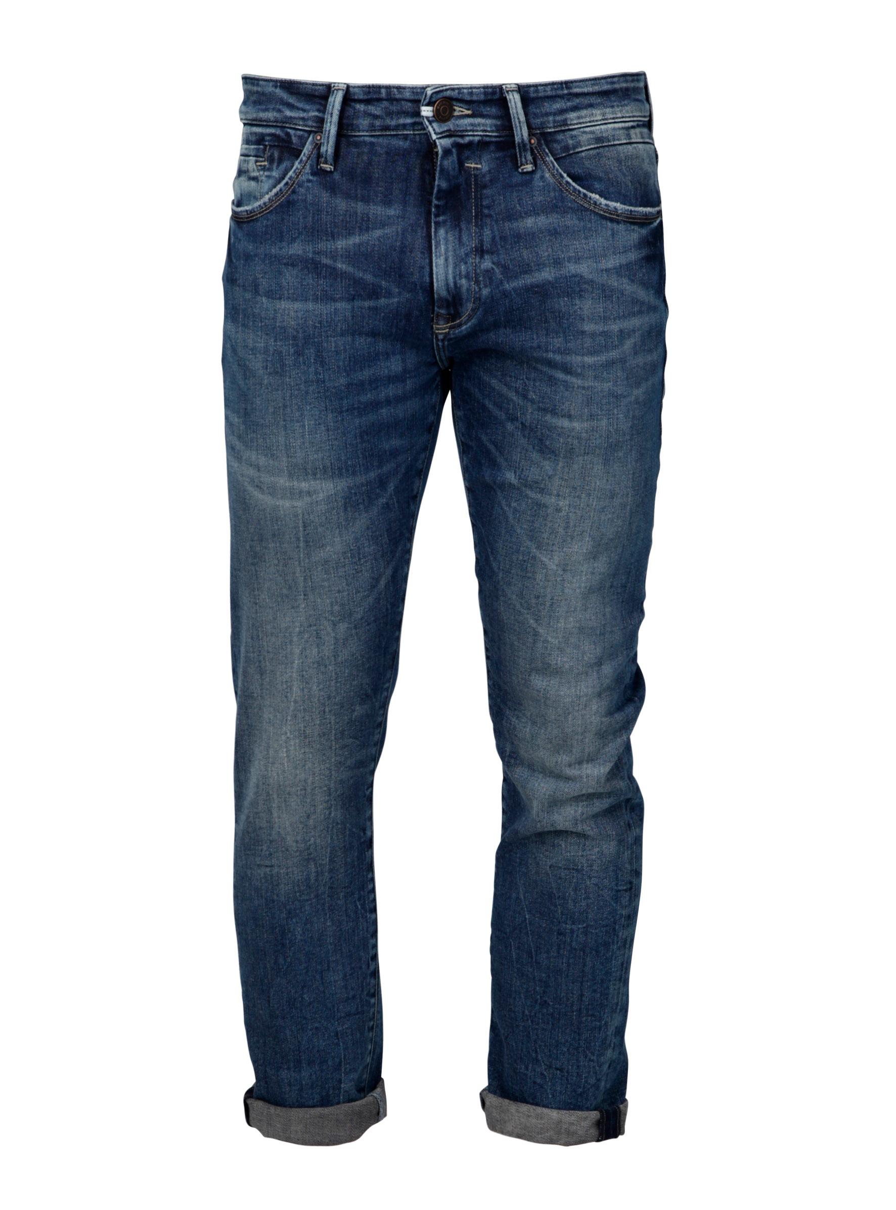 Jeans Hosen Fit Dean Slim Skinny in dunkel Blau bei Mavi Jeans