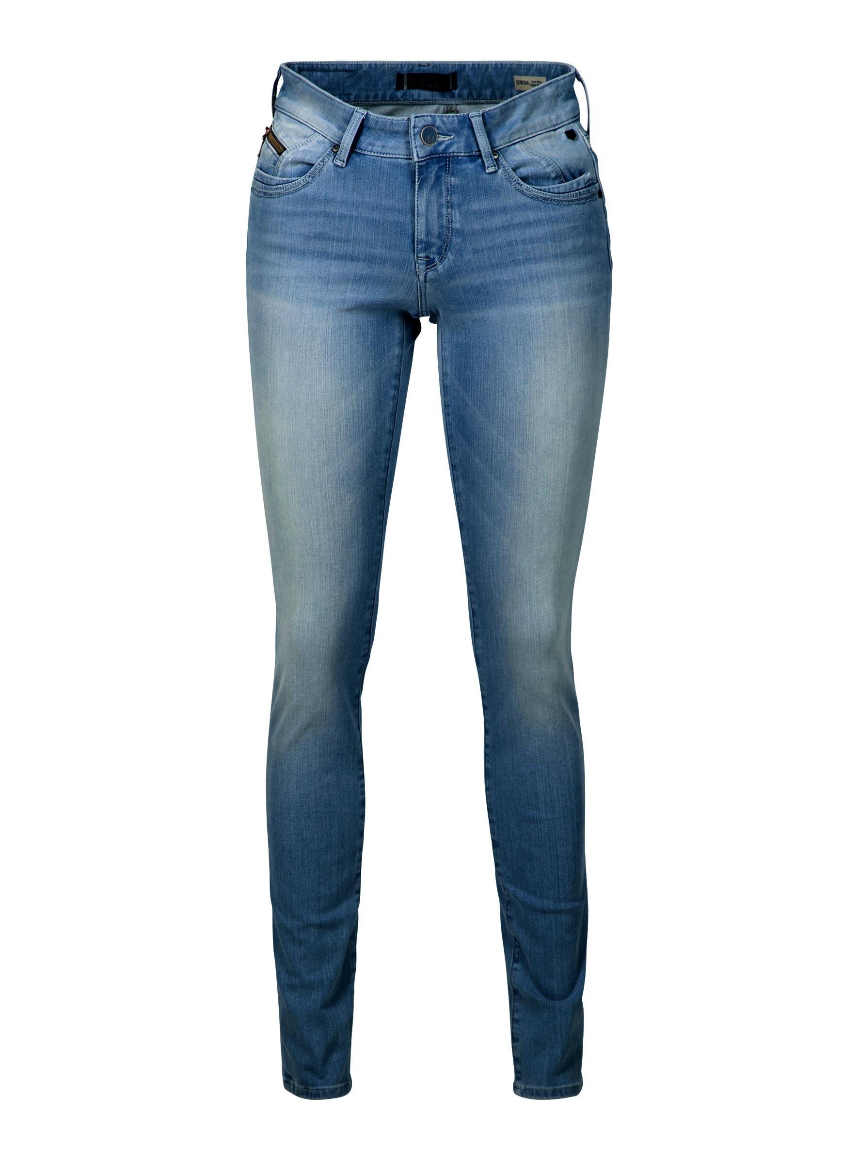 Serena Glam Fit mit Super Skinny Bein in einer Vintage Waschung in der Mavi Jeans Kollektion