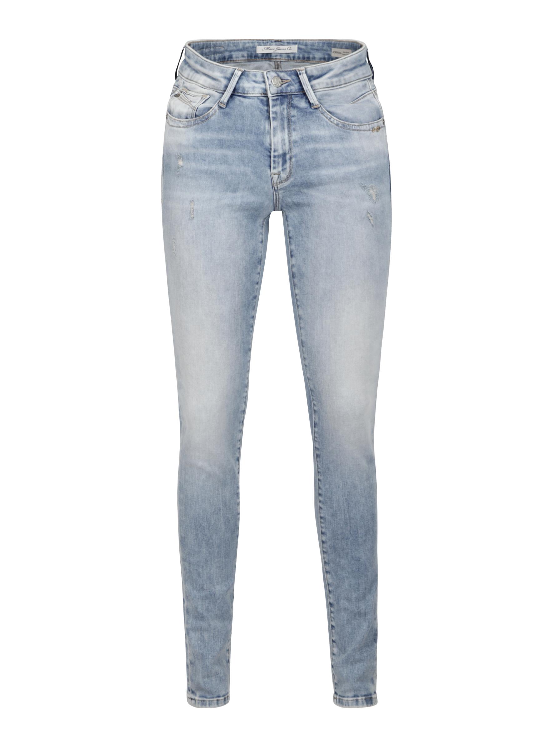 Mavi Jeans Fit Adriana in neuer hellen Waschung in der Mavi Jeans Sommer Kollektion