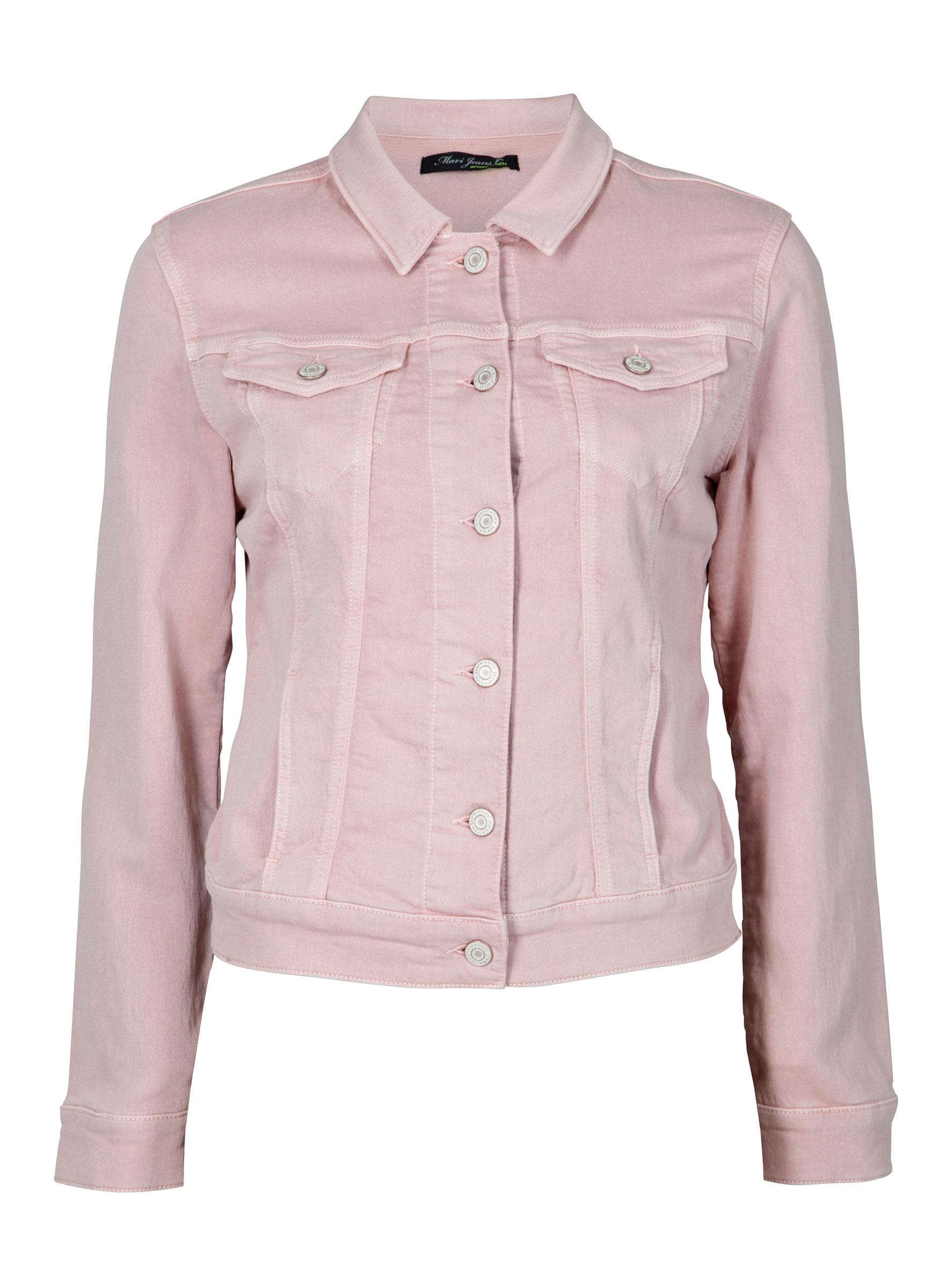 Super süße Jeansjacke in Rosa für die modern Women in der Mavi Jeans Kollektion