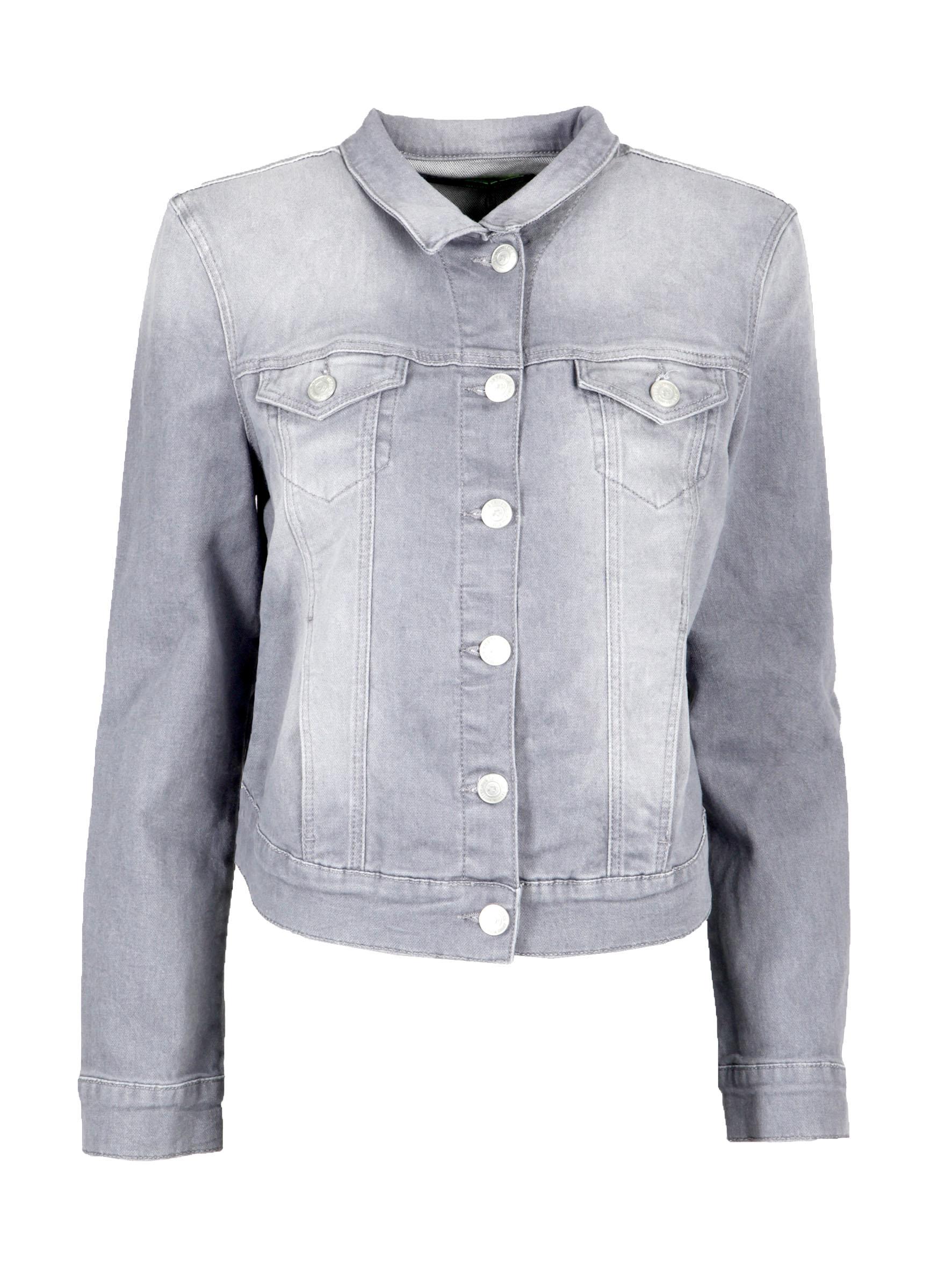 Trendige Jeansjacke Charlize in grau bei Mavi Jeans