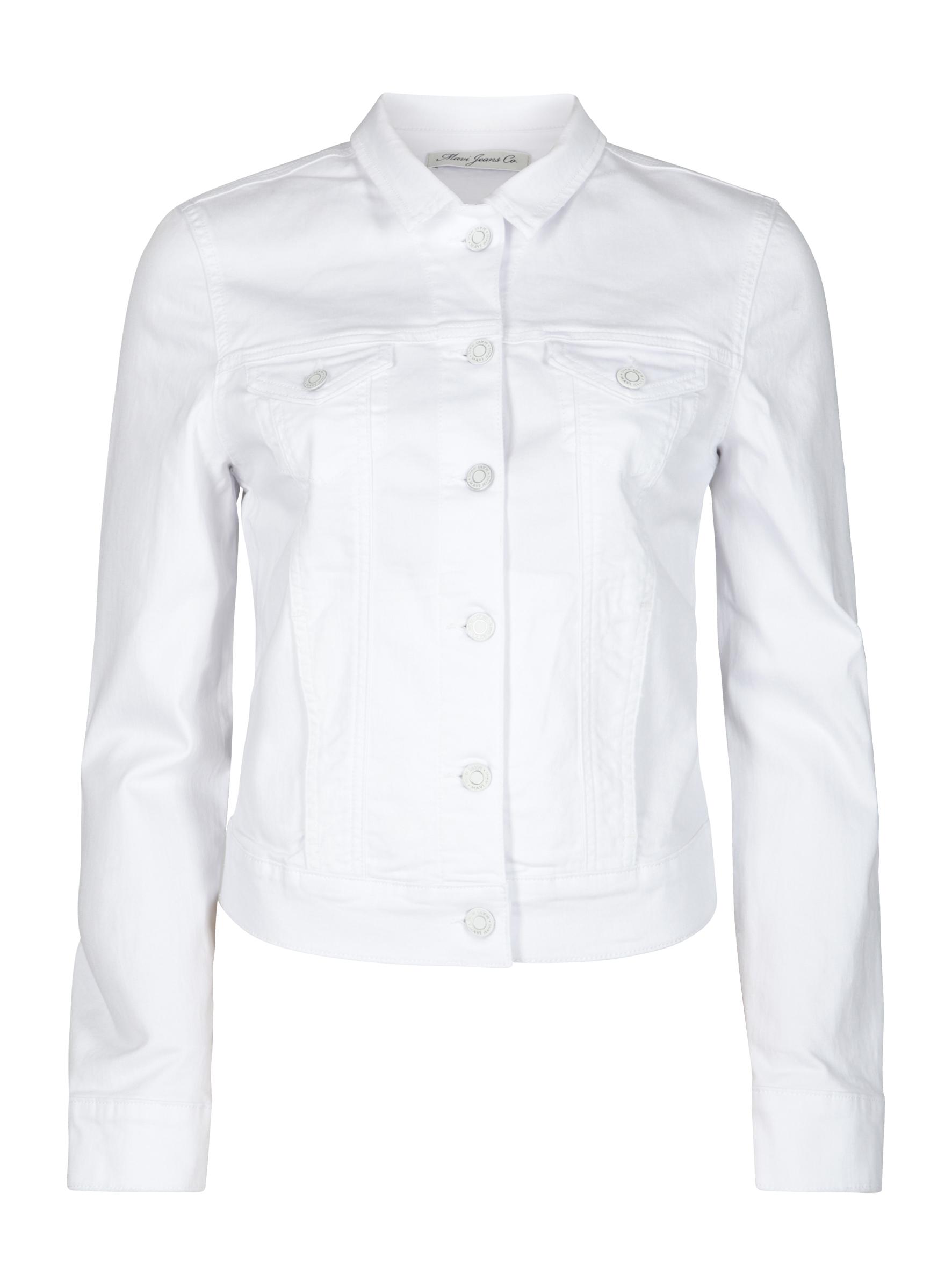 Trendige Jeansjacke Charlize in weiß bei Mavi Jeans