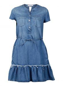 Jeanskleid Sahara mit süßen Details am Bund in der Mavi Jeans Kollektion