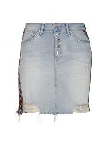 Jeansrock Frida im Mexico Style bei Mavi Jeans