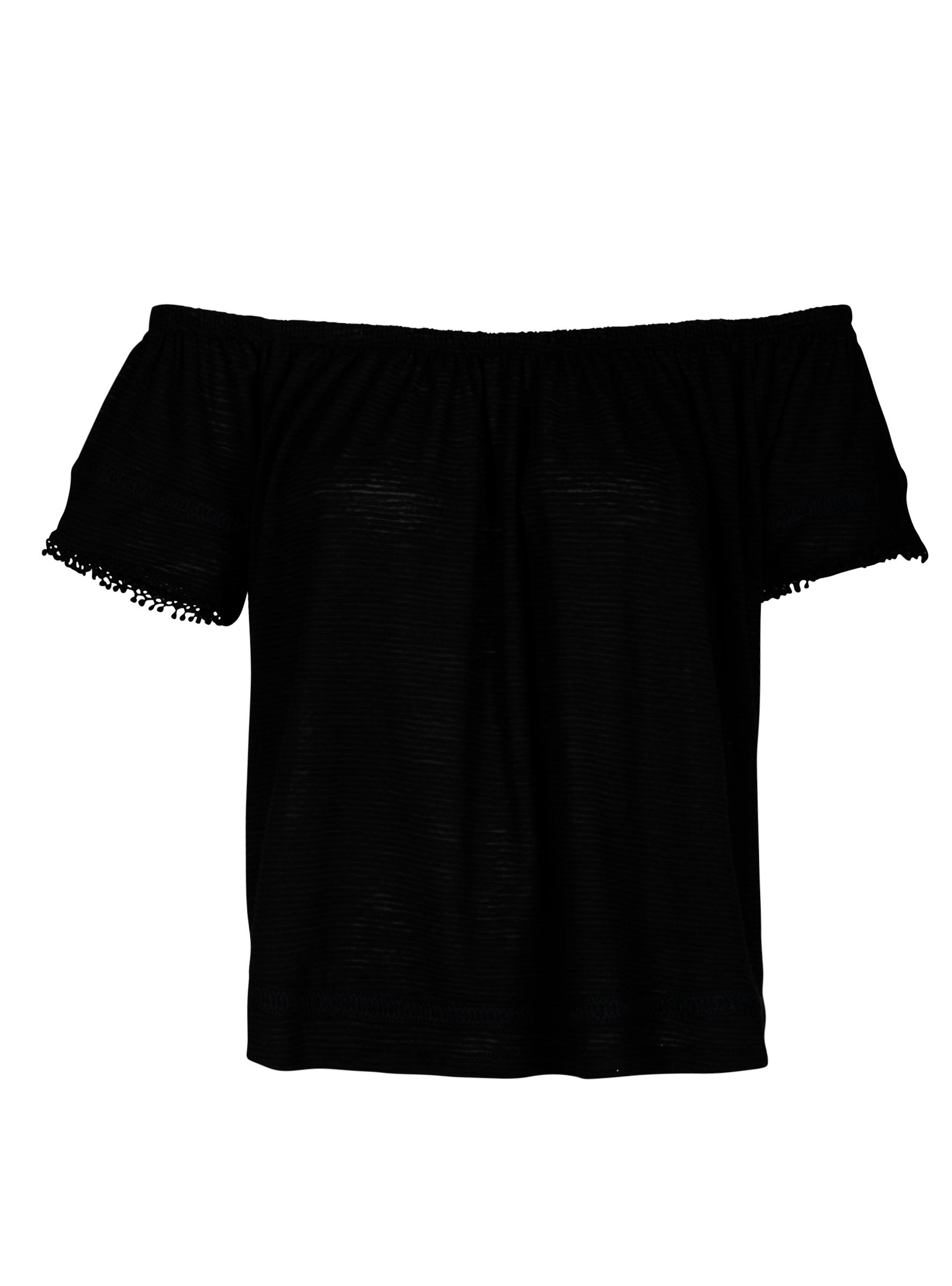 Trendiges Off Shoulder Shirt mit Detail an den Armen in der neuen Sommerkollektion bei Mavi Jeans