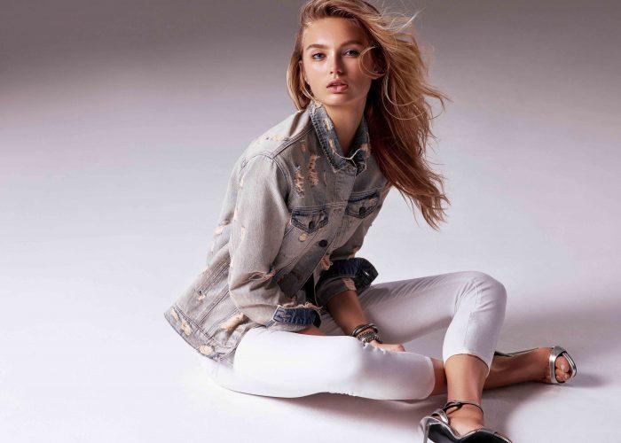 Super Model Romee Strijd ist das neue Gesicht der Super Mavi Kampagne