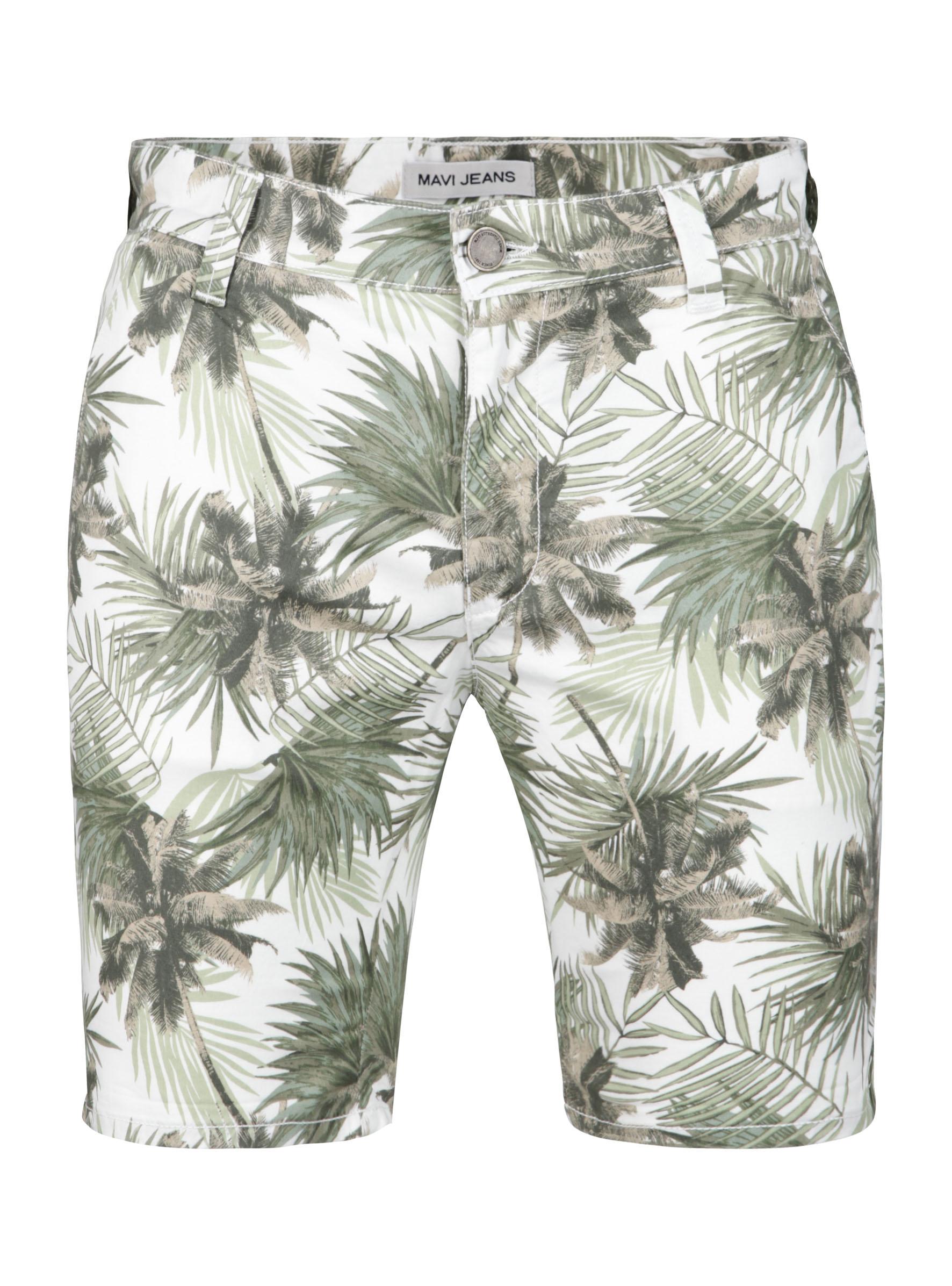 Cooler Palmen-Print und weitere Motive jetzt in der Mavi Jeans Sommerkollektion bei den Herren Shorts
