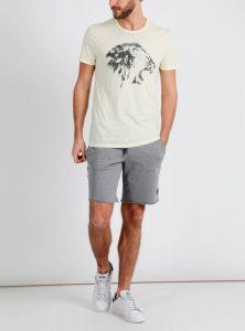 Gelbes T-Shirt mit Löwen Print jetzt in der Mavi Jeans Kollektion