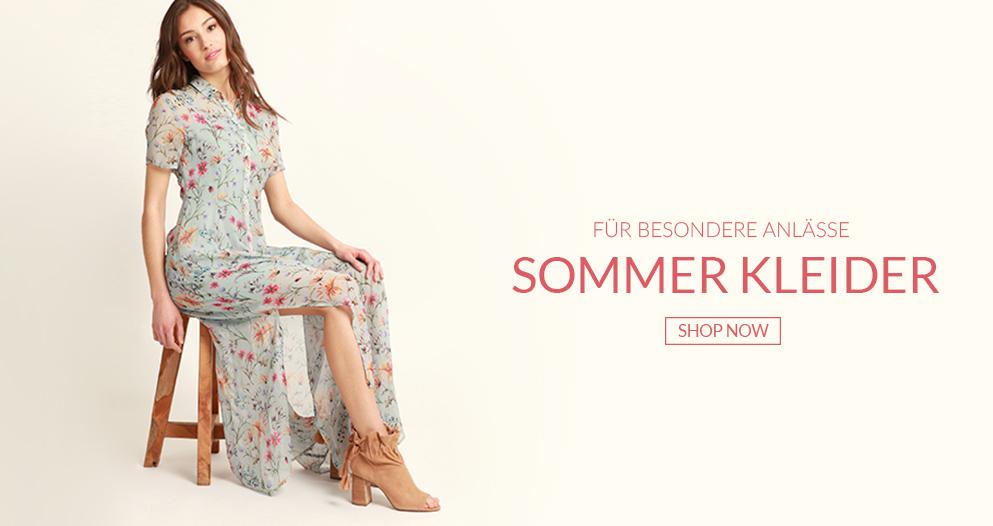 Sommer Kleider für besondere Anlässe passend zum Sommer bietet Mavi Jeans kleider in allen Längen und Farben, ob verspielt oder schlicht für jede Frau ist was dabei