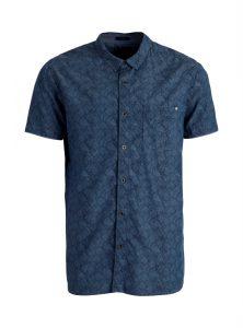 Kurzarm Hemd mit leichtem Print für Herren jetzt im Sale bei Mavi Jeans