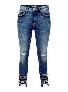 Adriana Ankle mit Mexico Details an den Taschen und am Saum jetzt im Sale bei Mavi Jeans