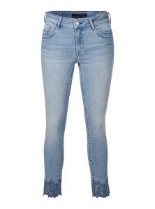 Sophie Ankle mit Stickerein am Saum jetzt im Sale bei Mavi Jeans
