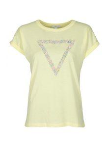 Triangel Shirt in zitronengelb im Sale bei Mavi Jeans