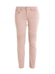 Aura Low-Waist Bikerskinny in rose im Sale bei Mavi Jeans