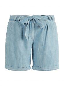 Luftige Shorts zum Binden in hellblau jetzt im Sale bei Mavi Jeans