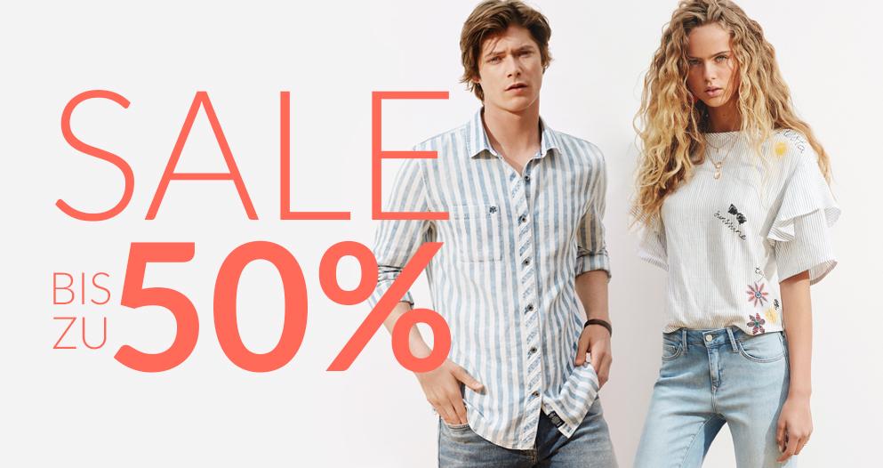Sale bei Mavi Jeans viele Produkte bis zu 50% im Sommerschlussverkauf