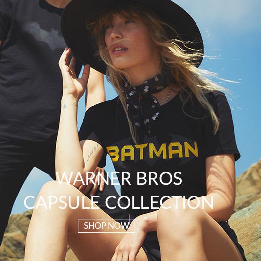 Superhelden Shirts aus der Mavi Warner Bros. Kollektion