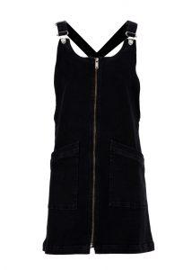 Baumwoll Kleid im Latzhosen Style und Reißverschluss jetzt für die neue Kollektion von Mavi Jeans