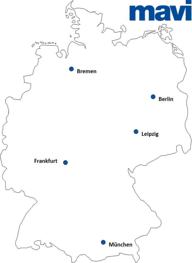 Mavi Stores in Deutschland