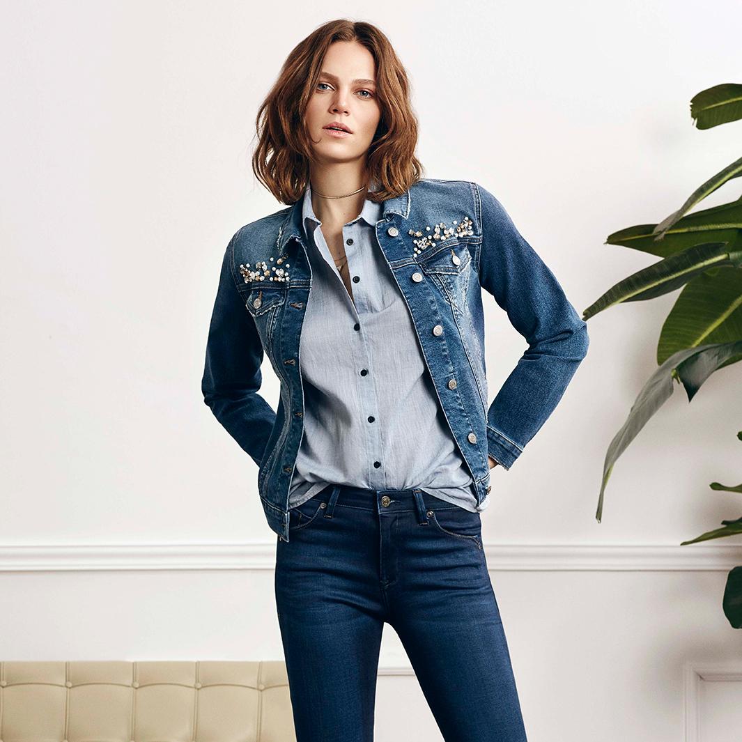 Mavi Jeans hat nun die ersten neuen Teile für die Fall Winter Kollektion 2018