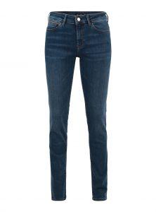 Sophie | Mid Waist Skinny Jeans in blau Mittlere Leibhöhe Eng anliegende Passform Blaue Waschung mit leichtem Vintage Effekt 5-Pocket Style und verdeckter Reißverschluss neu bei Mavi Uptown