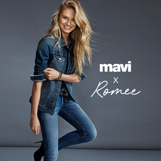 MAVI X ROMEE neue kollektion fall/winter 18 super soft