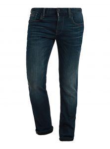 Marcus | Mid Waist Slim Straight Leg Jeans in dunkelblauer Vintage-Waschung mit umgeschlagenem Saum aus der neuen Mavi Herren Kollektion