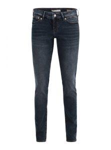 Serena | Low Waist Super Skinny Jeans in verwaschenem Dunkelblau mit niedriger Leibhöhe, eng geschnittenem Bein, 5-Pocket Style und verdecktem Reißverschluss aus der neuen Mavi Young Fashion Kollektion
