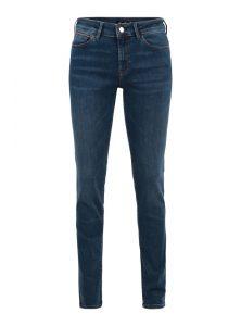 Mavi SuperSoft Kollektion Sophie | Mid Waist Skinny Jeans in blau mit leichtem Vintage Effekt, 5-Pocket Style und verdecktem Reißverschluss mit SuperSoft Qualität aus der neuen Mavi Uptown Kollektion. Die SuperSoft Qualität, hergestellt aus einer innovativen hochwertigen Fasermischung, bietet Premium Softness und ultimative Dehnbarkeit.