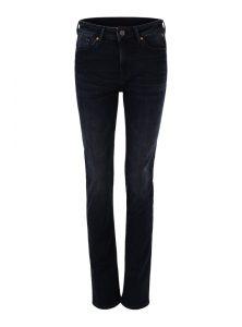 Kendra | Straight Leg Jeans in dunkelblau mit hoher Leibhöhe und geradem Bein aus der neuen Mavi Uptown Kollektion