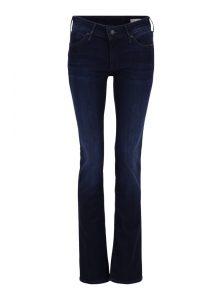 Olivia | Dunkelblaue Low-Waist Jeans mit geradem Bein in dunkelblauer Ink-Waschung aus der neuen Mavi Young Fashion Kollektion