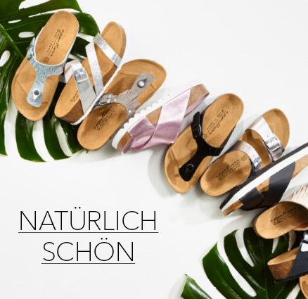 Schuhe Sandalen Natur Strauss Bio